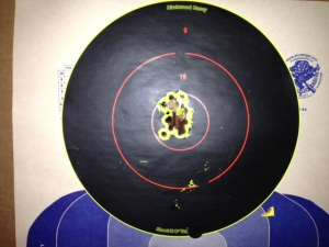Glock 23 12 at 5 meters
