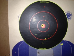 Glock 23 from 5 meters